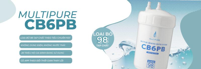 máy lọc nước multipure CB6PB