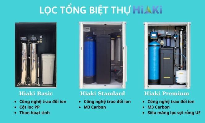 Hệ thống lọc nước tổng cho biệt thự Hiaki