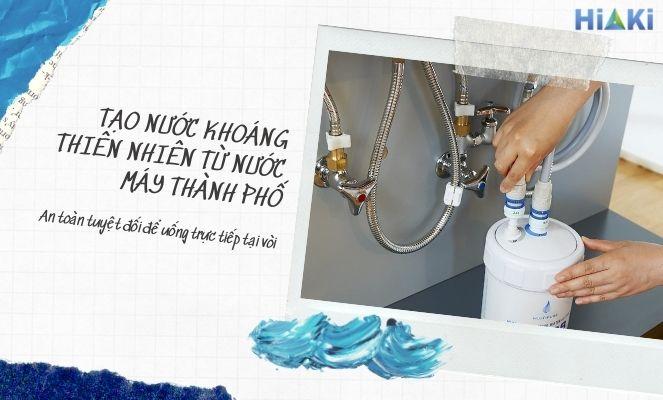 CB6PB là lọc nước giữ khoáng đảm bảo an toàn để uống trực tiếp
